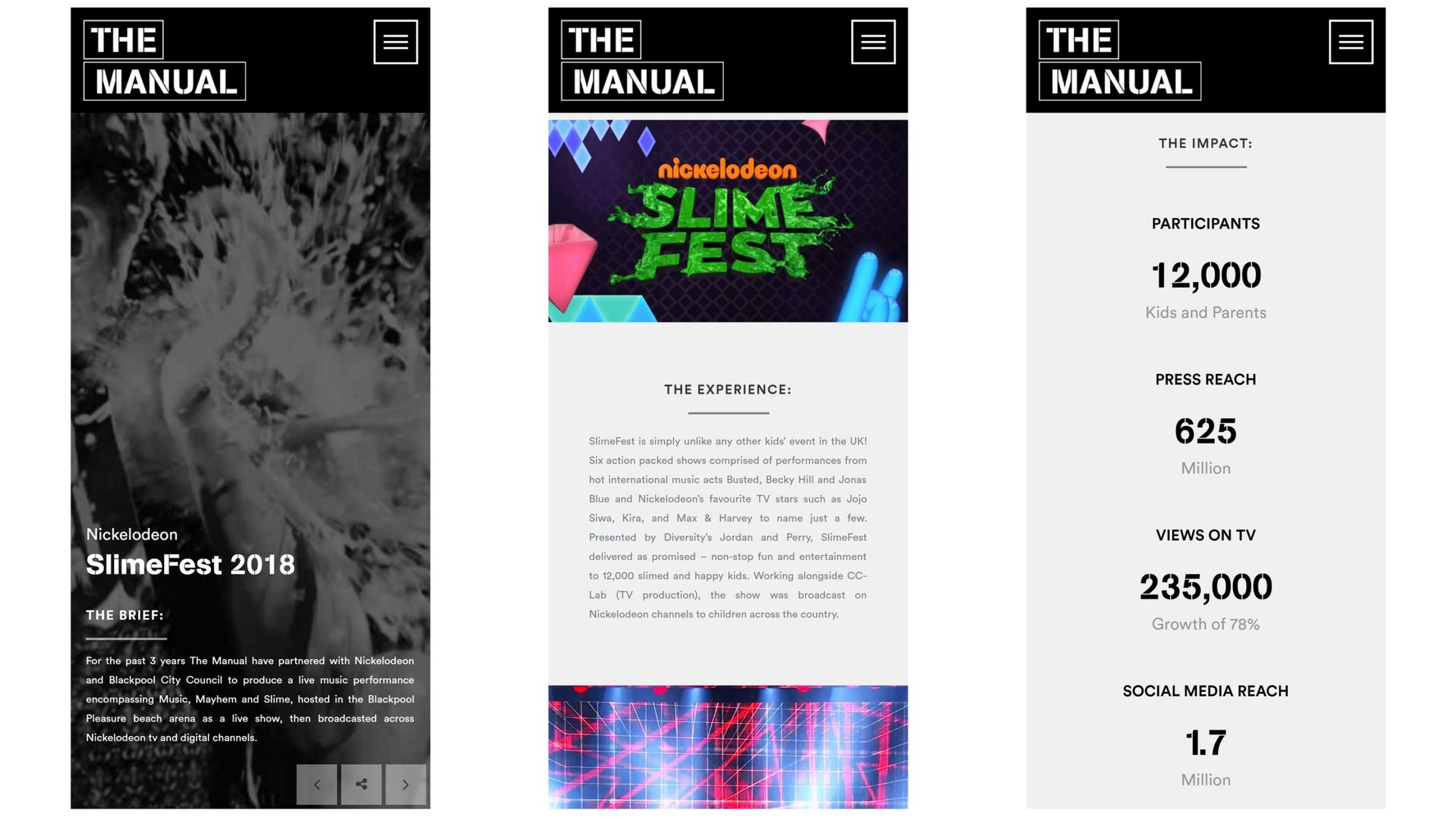 the manual london slim fest work mobile screenshots