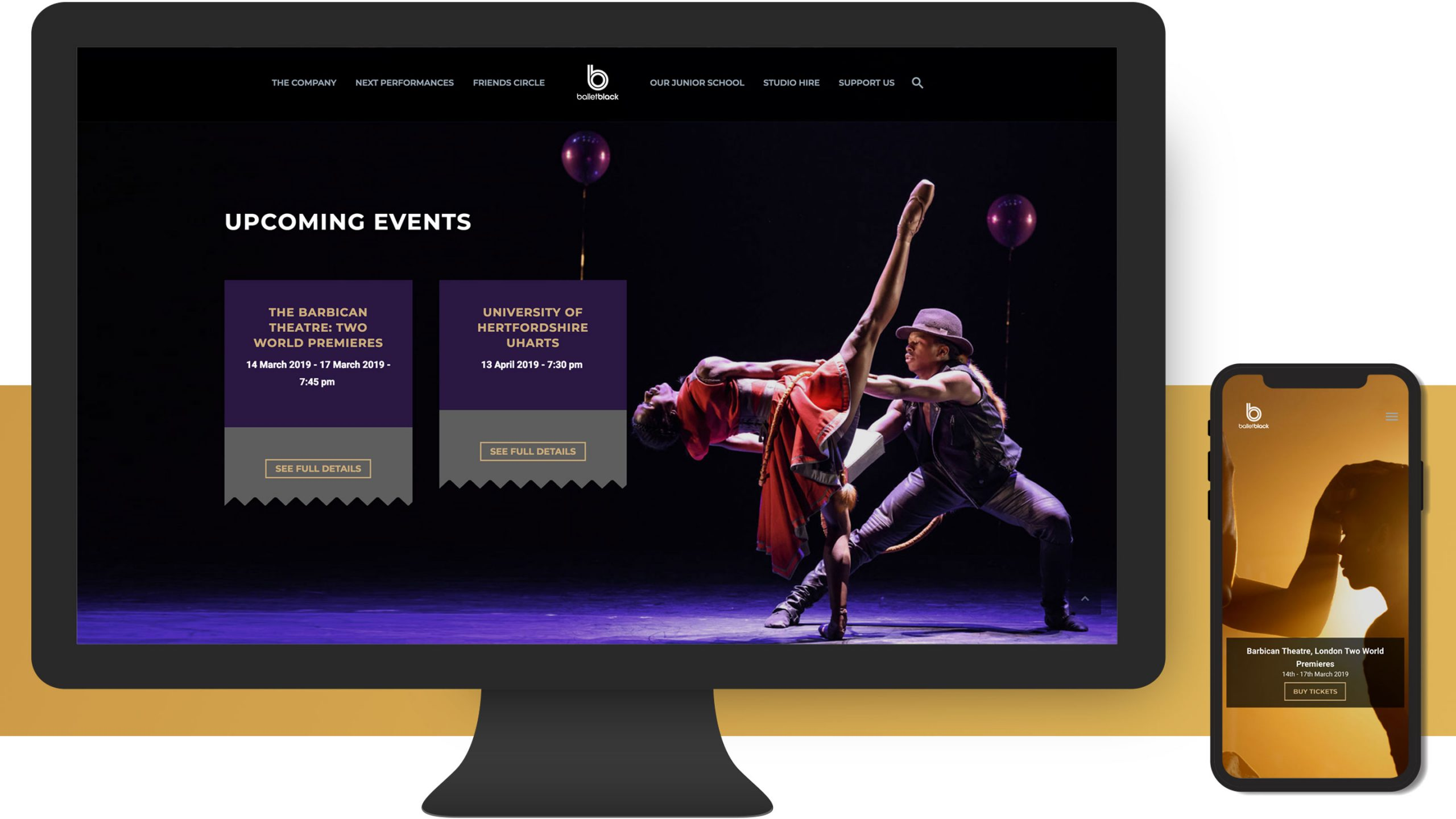 ballet black desktop and mobile