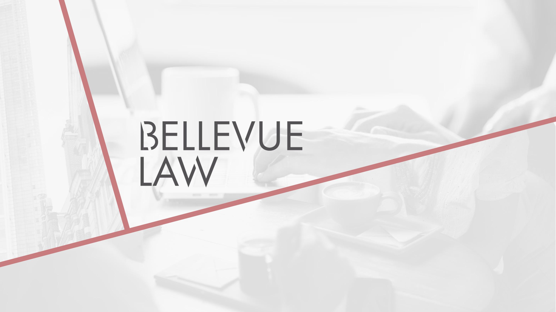 bellevue law first slide brand logo