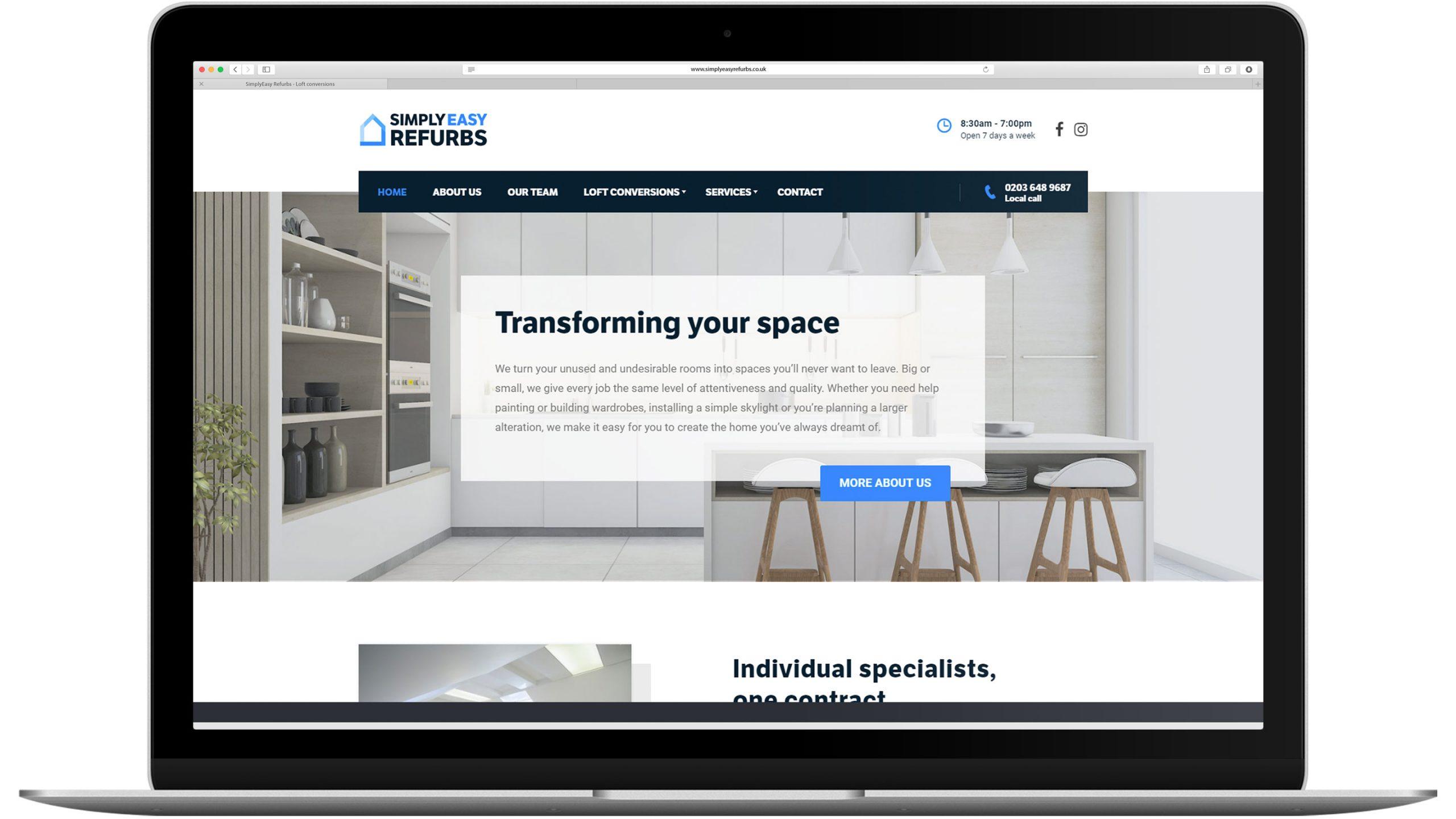 simplyeasy refurb homepage