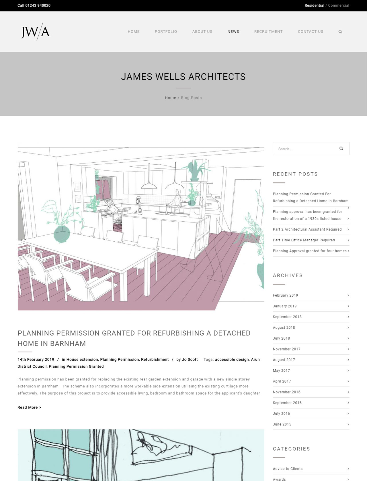 james wells architects blog page
