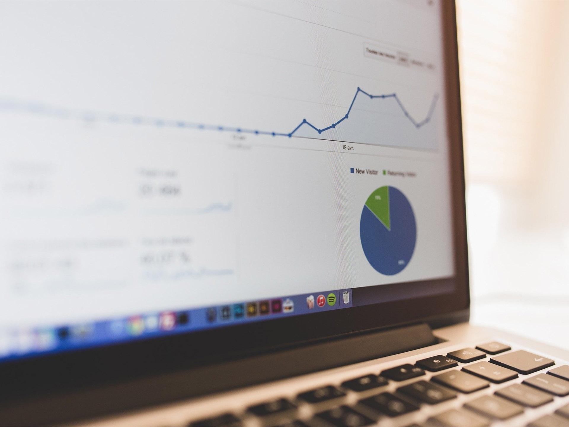 Keyword research in SEO - Google Analytics